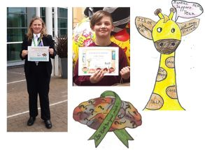 Telford Pupils' Winning Designs for Mental Health Support Team
