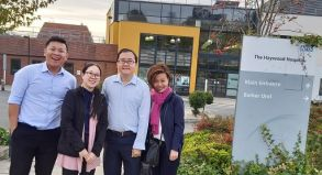 Singapore health care team visit MPFT