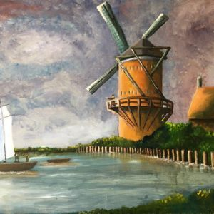 An Homage to Dutch Landscape by Mikey D