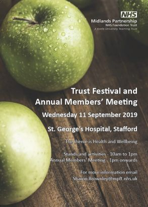 Invitation to Trust Festival and Annual Members' Meeting