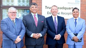 Pakistan Army Surgeon General Visits Local NHS Trust