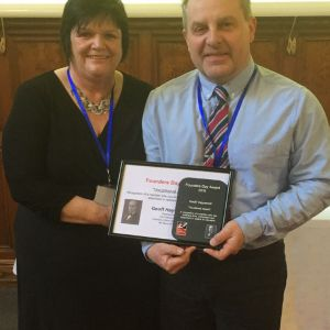 Geoff Haywood: Blind Veterans UK Vocational Award 2019