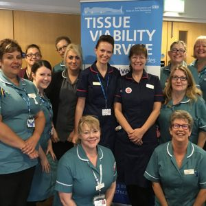 Tissue Viability Team: Outstanding Practice in Wound Care Award 2018