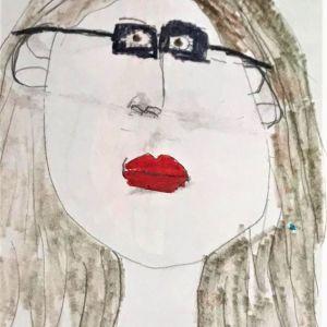Self-Portrait by Naomi Coxon