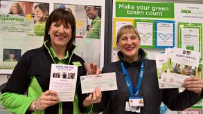 Songs for You Awarded £200 from ASDA Green Token Scheme