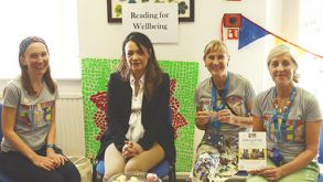 Best Selling Author Supports Local Arts for Health Projects