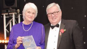 Physiotherapist Jan recognised for 50 years' service