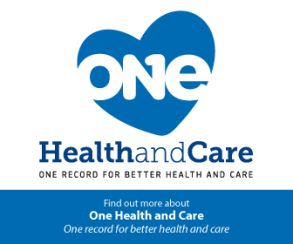 One Health and Care – NOW LIVE
