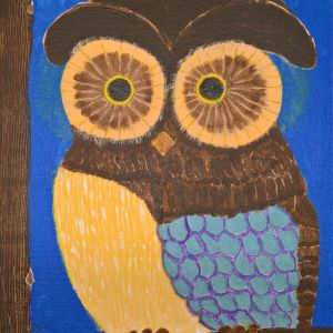 Owl by Vic Bulley