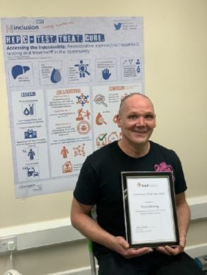 Local Recovery Worker Gains National Recognition