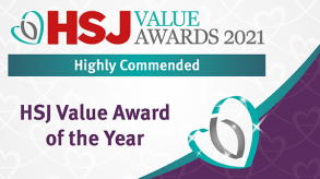 West Midlands region eating disorder service Highly Commended at prestigious HSJ Value Awards page thumbnail