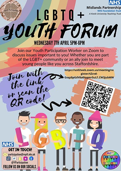 LGBTQ+ Youth Forum Poster